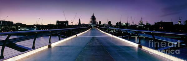 Wall Art - Photograph - Millennium Bridge London 2 by Rod McLean