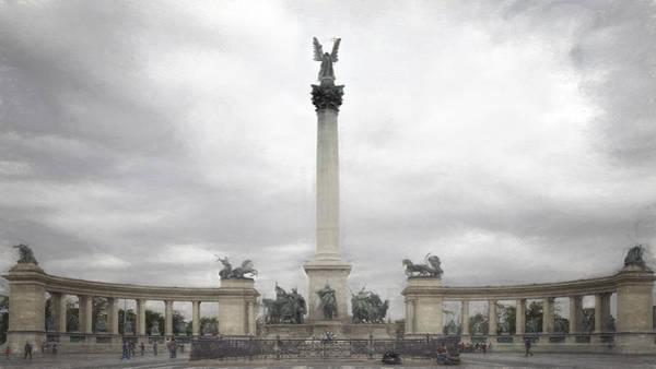 Photograph - Millennium Monument Budapest by Joan Carroll
