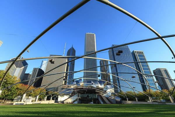 Millennium Park Photograph - Millennium Park, Chicago by Fraser Hall