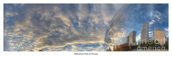 Millennium Park Photograph - Millennium Park In Chicago by Twenty Two North Photography