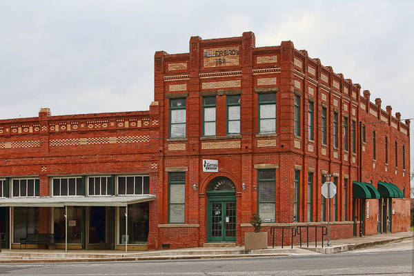 Elgin Photograph - Miller Brothers 1911 Building by Linda Phelps