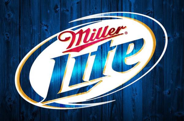 Pads Digital Art - Miller Lite Barn Door by Dan Sproul