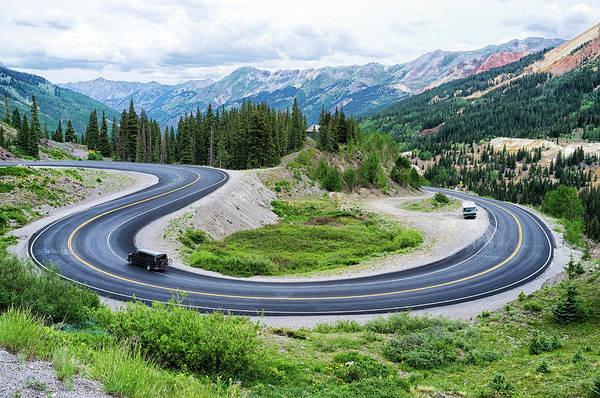 Silverton Photograph - Million Dollar Highway by Audun Bakke Andersen