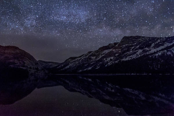 Photograph - Millky Way Over Tenaya Lake by Cat Connor