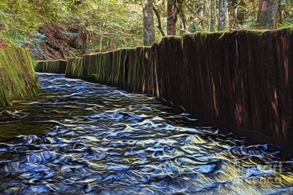 Millrace Wall Art - Photograph - Millrace At Mingus Mill by Dawn Gari