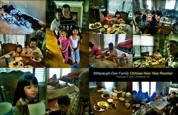 Photograph - Millspaugh-dao Family 2011 by Glenn Bautista