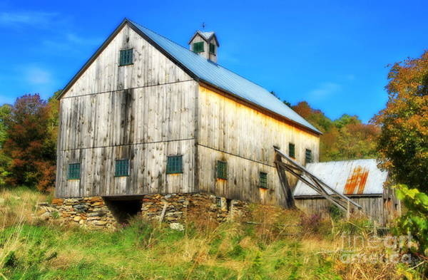 Photograph - Milton Barn In Orton by Deborah Benoit