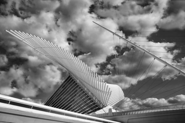 Milwaukee Art Museum Photograph - Milwaukee Art Center 2 by Jack Zulli