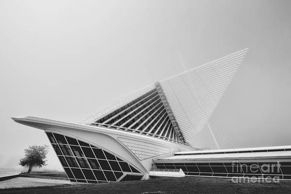 Photograph - Milwaukee Museum Of Art Backside by David Haskett II