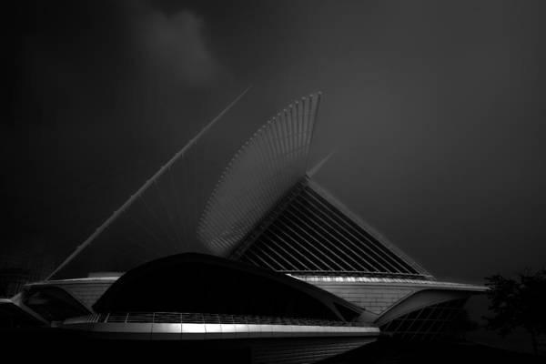 Photograph - Milwaukee Wisconsin Museum Of Art by David Haskett II