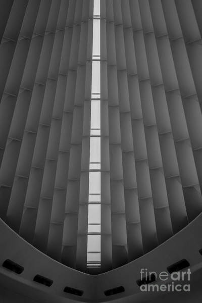 Photograph - Milwaukee Museum Of Art Interior by David Haskett II