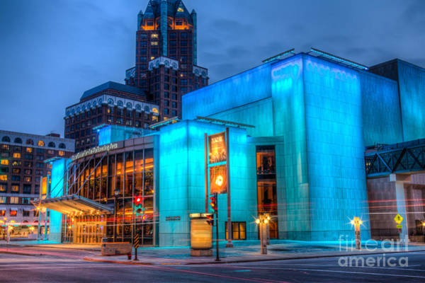 Mke Photograph - Milwaukee Pac Evening Glow by Andrew Slater