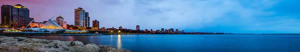 Photograph - Milwaukee Skyline - Version 1 by Steven Santamour