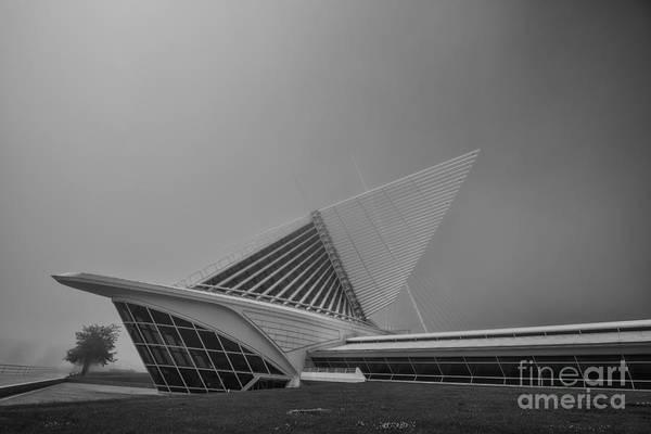 Photograph - Milwaukee Wisconsin Museum Of Art Backside 2 by David Haskett II