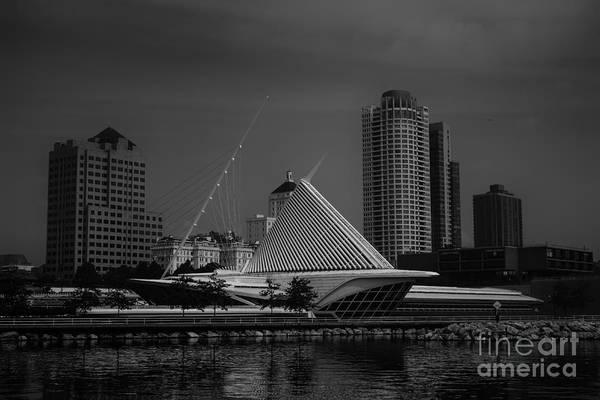 Photograph - Milwaukee Wisconsin Skyline by David Haskett II