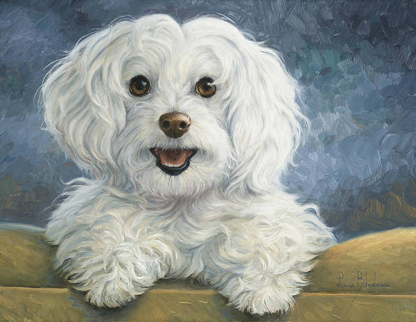 Canine Wall Art - Painting - Mimi by Lucie Bilodeau