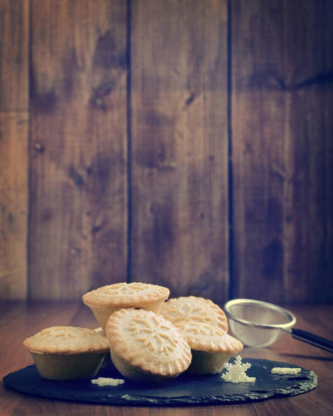 Wall Art - Photograph - Mince Pies by Amanda Elwell