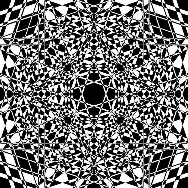 Illusion Digital Art - B W Sq 3 by Mike McGlothlen
