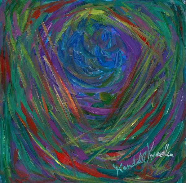 Painting - Mind Journey by Kendall Kessler