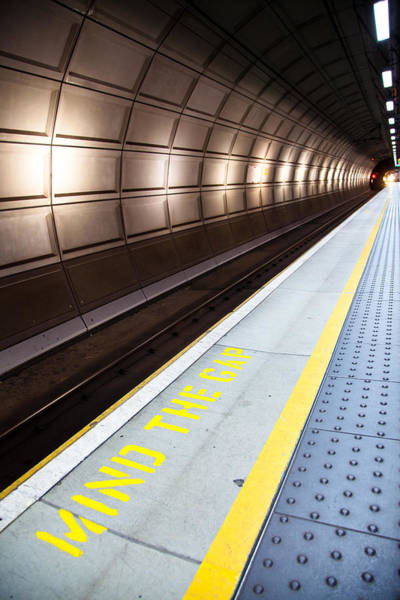 Photograph - Mind The Gap by Adam Pender
