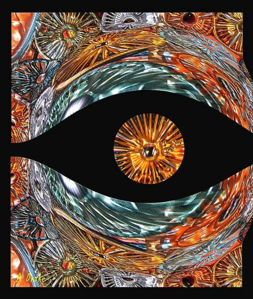Digital Art - Mind's Eye by Alec Drake