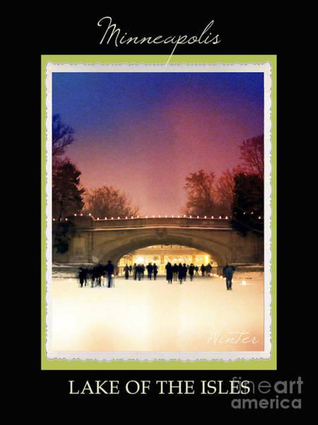 Chain Of Lakes Photograph - Mineapolis Seasons Winter by Heidi Hermes