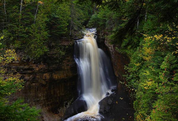 Photograph - Miner's Falls In October by Rachel Cohen
