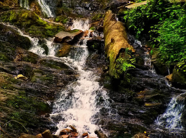 Photograph - Mingo Falls 3 by Chris Flees