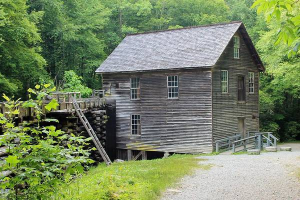 Test Of Time Photograph - Mingus Mill In Tennessee by Mary Koval