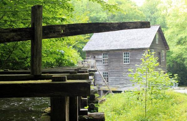 Test Of Time Photograph - Mingus Mill by Mary Koval