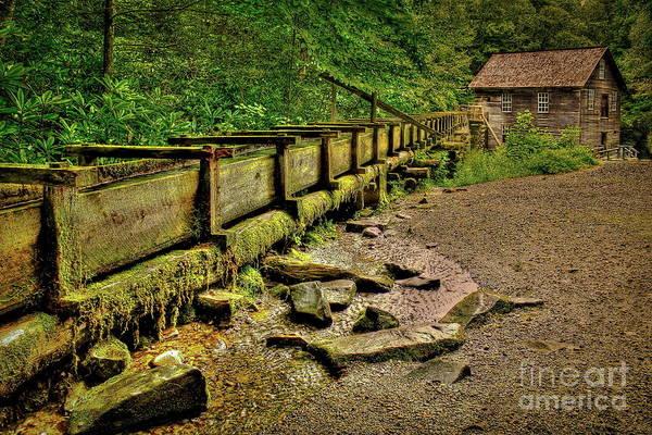 Mingus Mill Photograph - Mingus Mill Mingus Creek Great Smoky Mountains Art by Reid Callaway