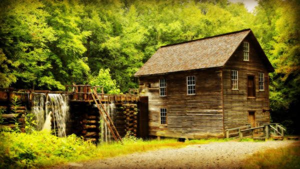 Millrace Wall Art - Photograph - Mingus Mill by Stephen Stookey