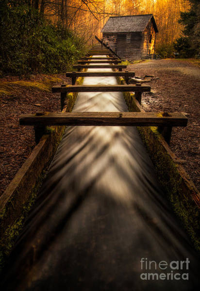 Mingus Mill Photograph - Mingus Mill by Todd Bielby