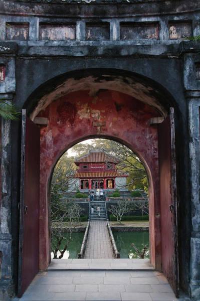 Hue Photograph - Minh Mang Tomb, Hue, Vietnam by Keren Su