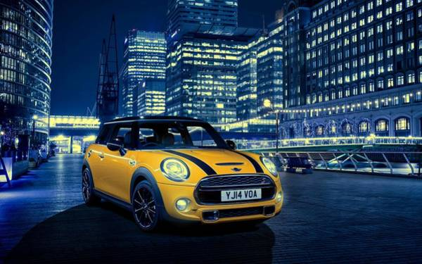 Photograph - Mini Cooper S 2014 by Movie Poster Prints