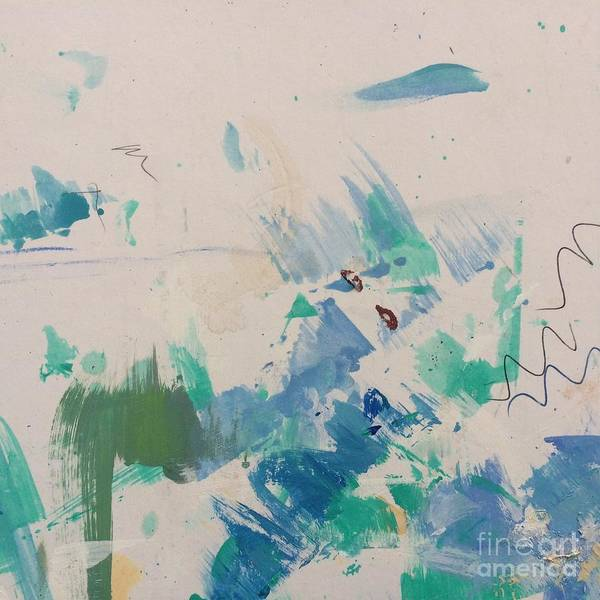 Painting - Minimal Blue by Robin Maria Pedrero