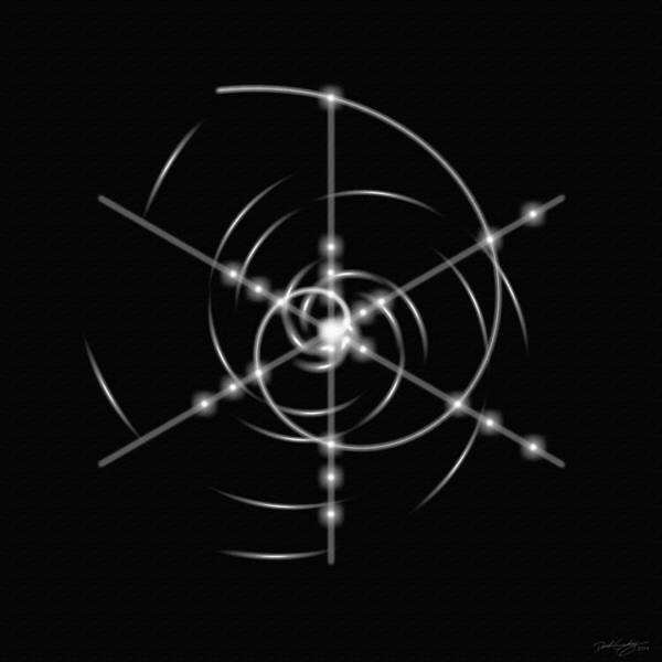 Digital Art - Minimal Life Spiral by Derek Gedney