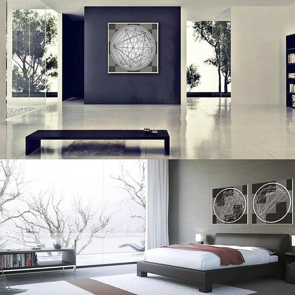 Aspect Digital Art - Minimalist Aspect Art In Rooms by Nick Anthony Fiorenza