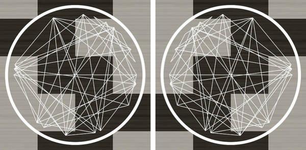 Aspect Digital Art - Minimalist Aspect Art Wood Texture by Nick Anthony Fiorenza