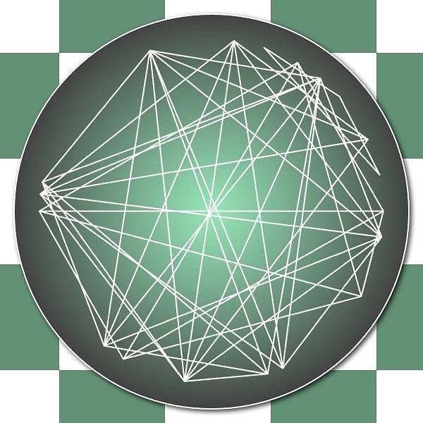 Aspect Digital Art - Minimalist Checkers Aspect Art by Nick Anthony Fiorenza