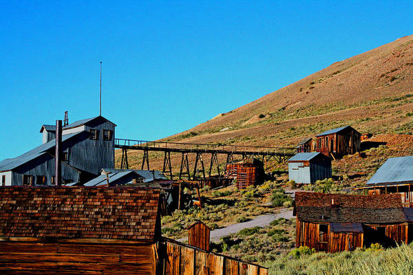 Photograph - Mining At Bodie by Joseph Coulombe