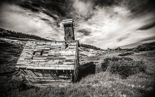 Abandoned House Wall Art - Photograph - Quartz Mountain 5 by Yo Pedro