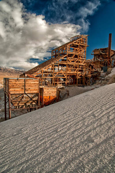 Eastern Sierra Photograph - Mining Days by Cat Connor