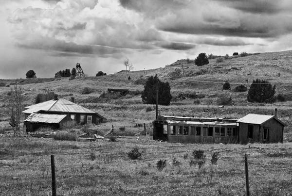 Photograph - Mining Town  by Mae Wertz