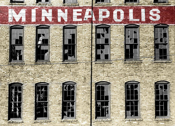 Photograph - Minneapolis by Andrew Fare