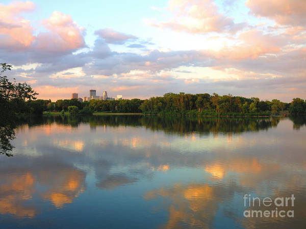 Minneapolis Photograph - Minneapolis Lakes by Heidi Hermes