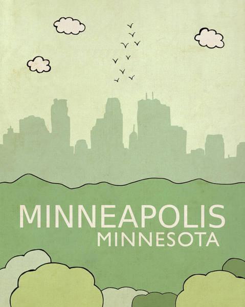 Minneapolis Painting - Minneapolis by Lisa Barbero