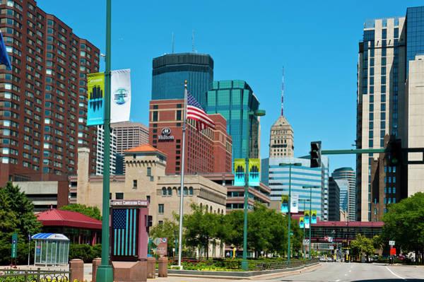 Convention Wall Art - Photograph - Minnesota, Minneapolis Skyline by Bernard Friel