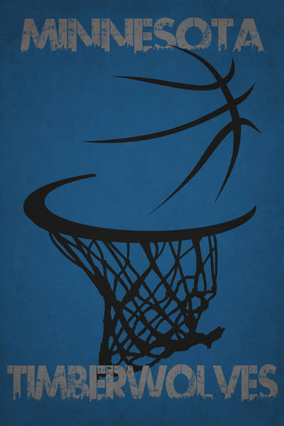 Timberwolves Photograph - Minnesota Timberwolves Hoop by Joe Hamilton