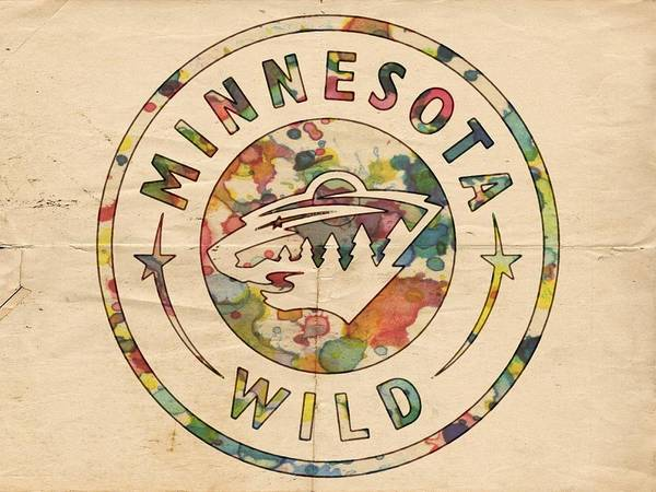 Digital Art - Minnesota Wild Poster Art by Florian Rodarte
